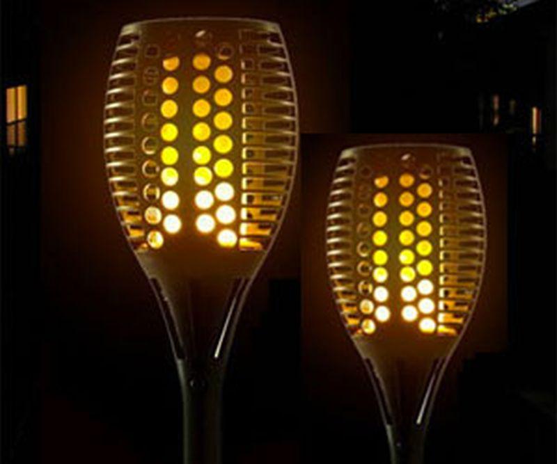Light bulb Tiki torch