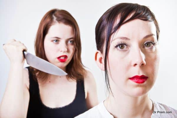 Girl Stabbing