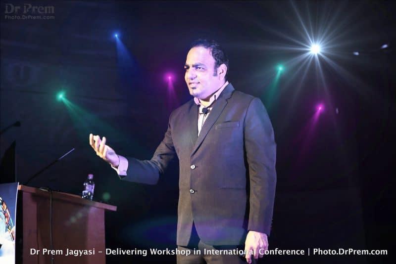 Dr Prem Jagyasi Delivering Keynote International India Conference 6-X3