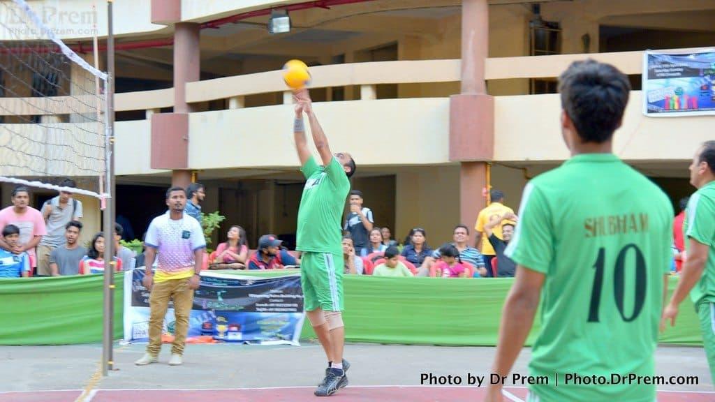 Dr Prem - Volleyball - iVolley 2016 - 2-XL