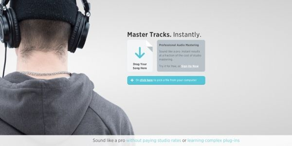 Landr audio mastering sound (2)