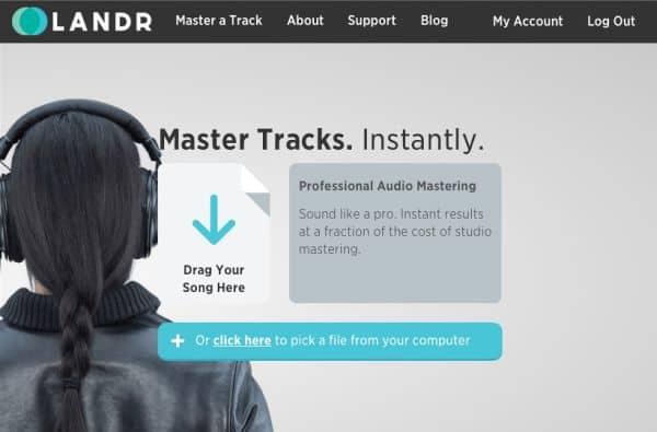 Landr audio mastering sound (4)