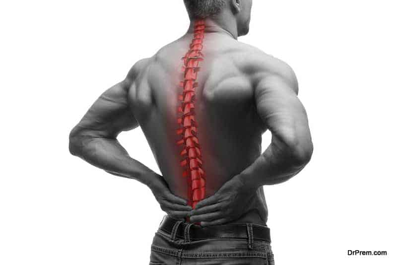 Fight lower back pain using acupressure