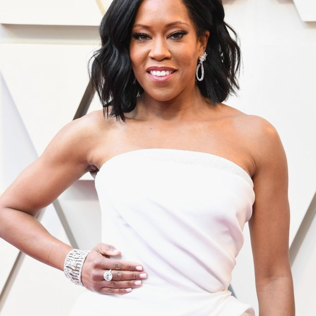 Regina King on the Oscars Red Carpet 2019