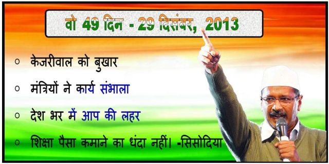 49 days of AAP 29th December