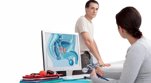 operacion con laser de prostata