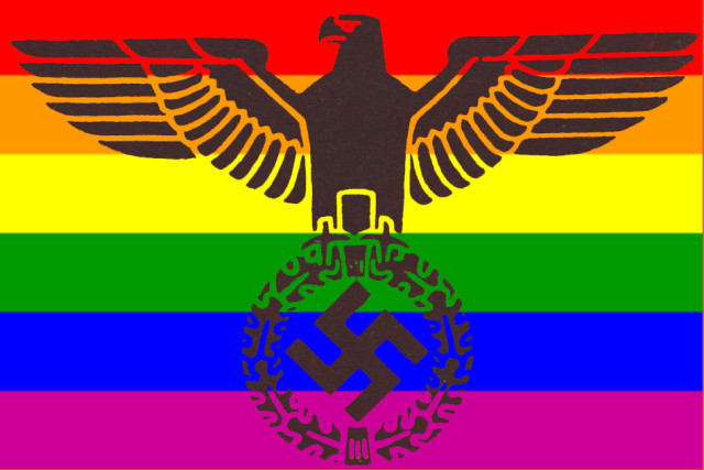 Image result for rainbow fascism