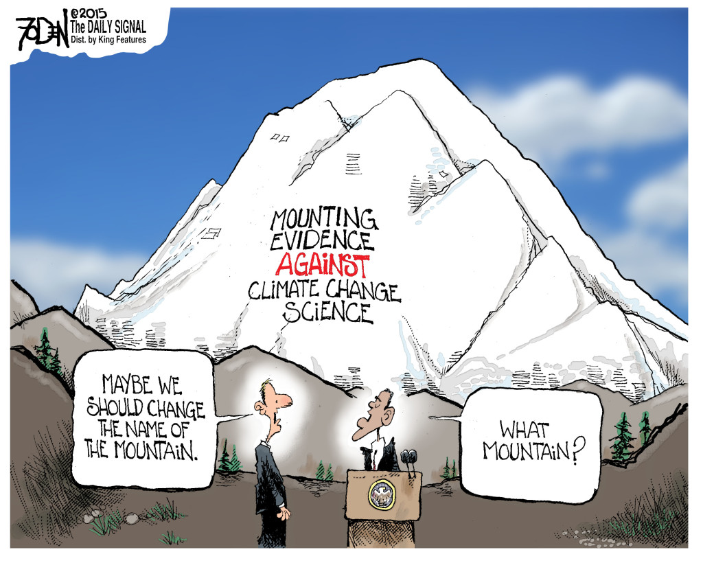 Obama S Mountain Sized Climate Denial Dr Rich Swier
