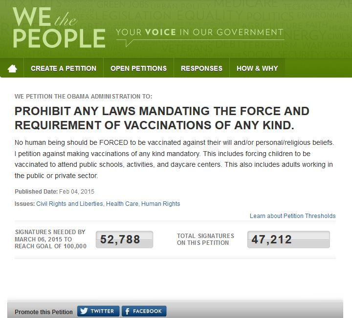 SURPRISE! WHITE HOUSE PETITION SYSTEM RIGGED! :: Dr. Rima Truth Reports