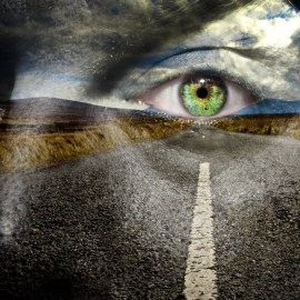 Keep your eye on the road