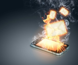 Cell Phone on Fire - EMF