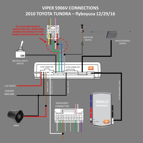 small resolution of viper 5906v remote starter install 2010 tundra tundratalk net tundra wiring diagram remote start