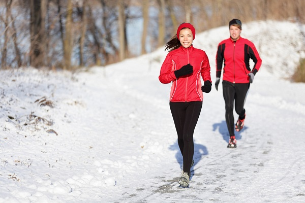 getting outside and exercise can fight off winter blues