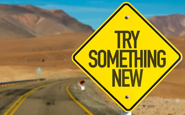 try something new for motivation to exercise