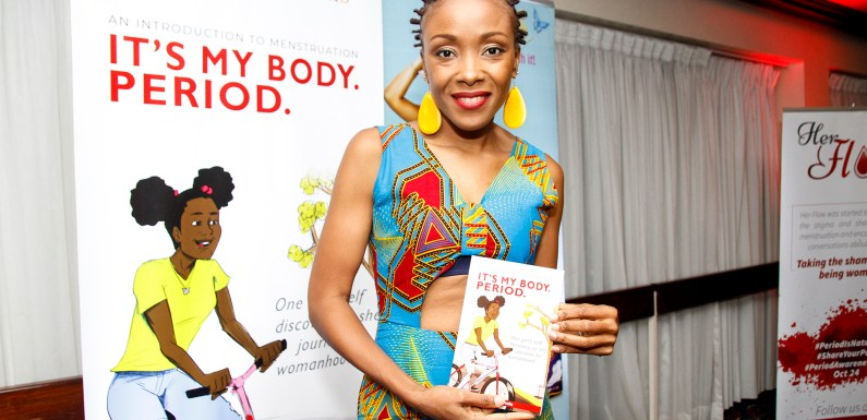 Shelly Pens New Book – It's My Body. Period.