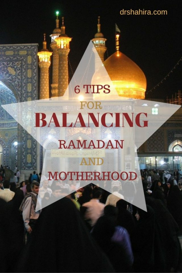 6 tips for balancing Ramadan and motherhood
