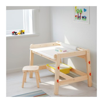 IKEA desk, children