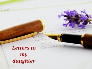 Letters to daughter from mom