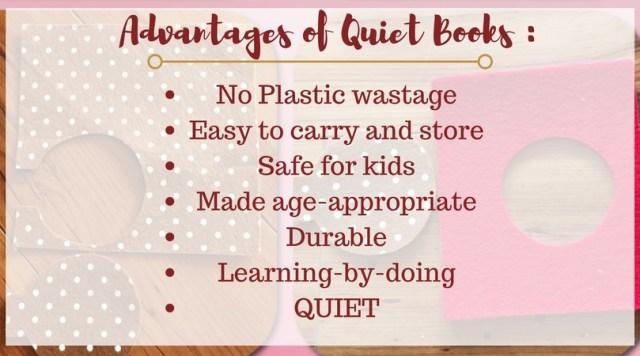 Quiet books ideas