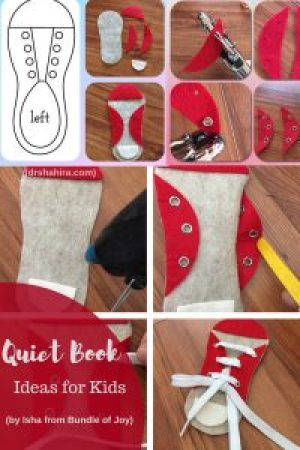 busy book for toddlers