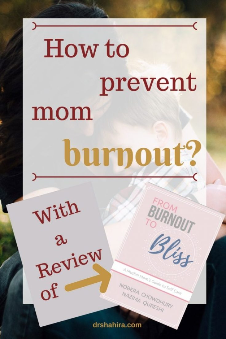mom burnout, self care for moms, review of ebook from burnout to bliss