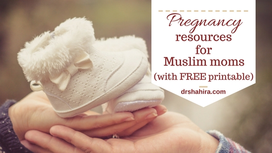 Pregnancy resources for muslim moms.