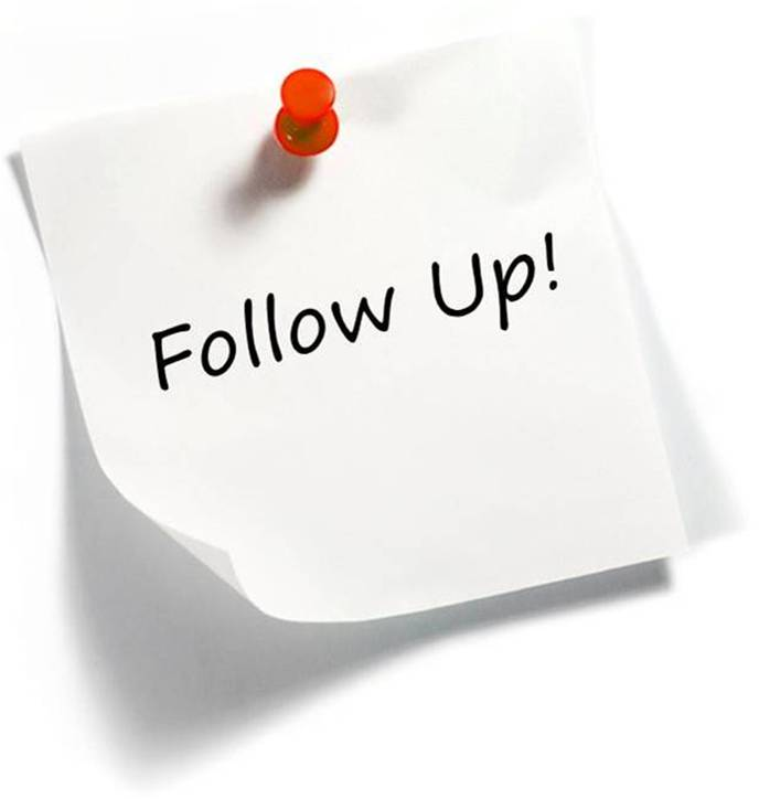 3 Steps To Overcome The Fear Of Followup « Strategies And