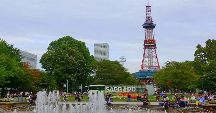 札幌車站&大通周邊–散策景點地圖攻略