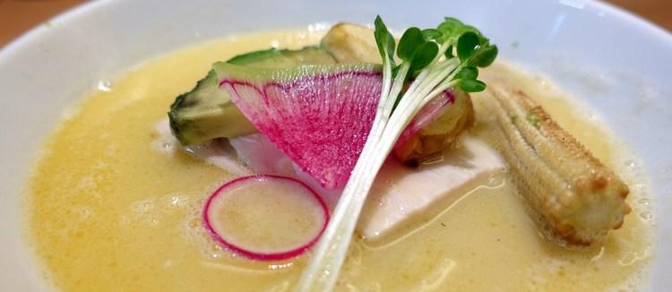 在札幌吃米其林推薦神級拉麵–銀座 篝