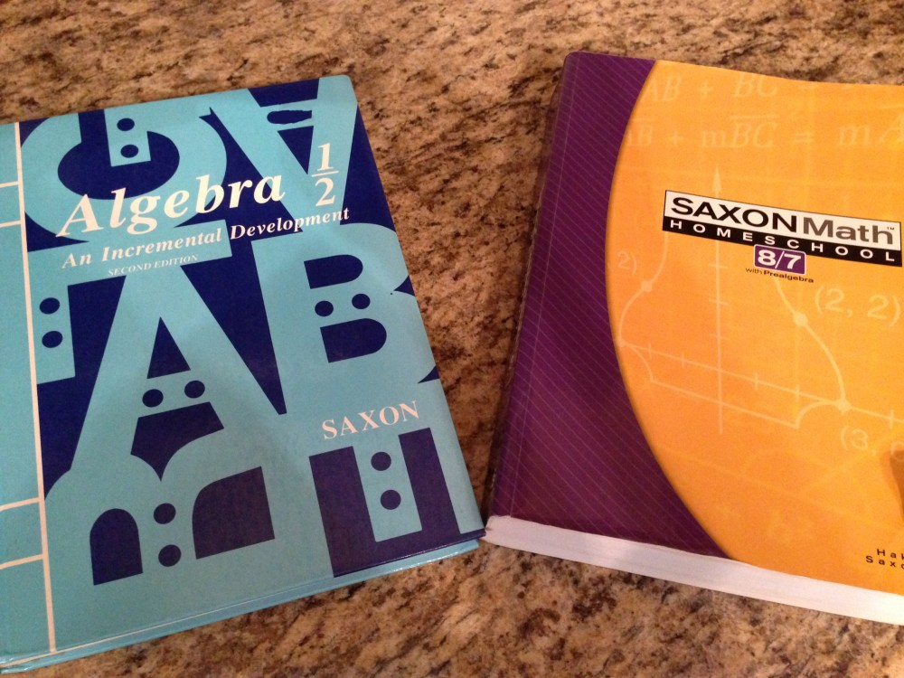medium resolution of Should my Child Do Saxon Math 8/7 or Algebra 1/2?   Studying His Word and  His Works