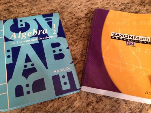 small resolution of Should my Child Do Saxon Math 8/7 or Algebra 1/2?   Studying His Word and  His Works