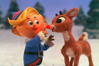 Rudolph the Red Nosed Reindeer, Christmas movie, family time, Christmas show