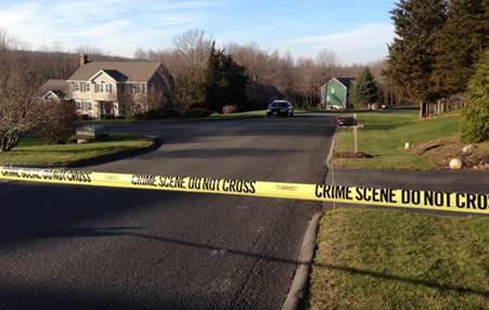 The neighborhood where gunman Adam Lanza lived. (Jason Sickles/Yahoo News)