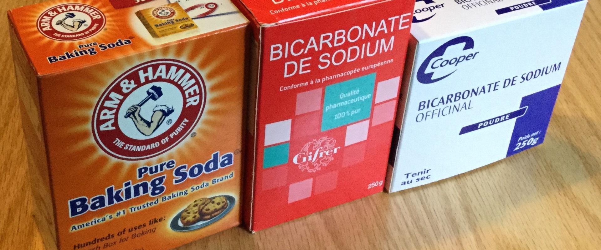 Sodium Bicarbonate (Baking Soda) – Most Necessary