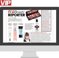 VIP Beauty Magazine Article
