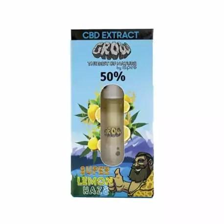 Huile CBD Vape 50% SUPER LEMON HAZE