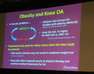 Weight Loss Can Slow Knee Joint  Degeneration