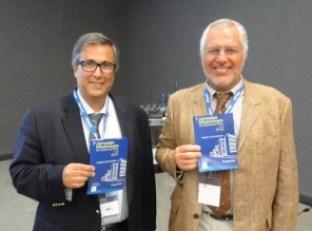 El Dr. Fernando Vaz y el Dr. Oscar Asís