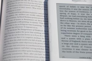 Los e-readers producen una calidad de lectura superior a los soportes tradicionales