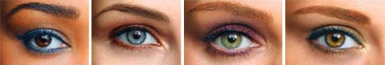 El color de ojos y sus canciones