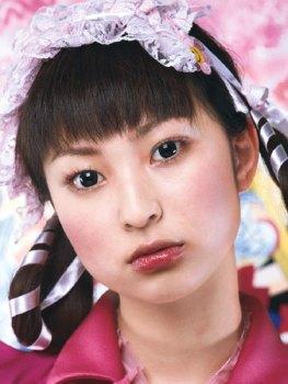 Chica japonesa con lentillas Anime