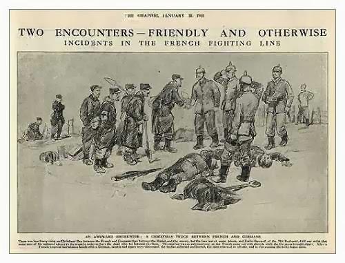 En la navidad de 1914, los