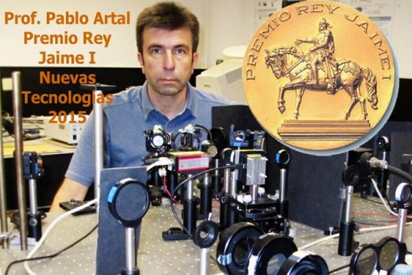El Profesor Pablo Artal, Premio Jaume I 2015 de Nuevas Tecnologías