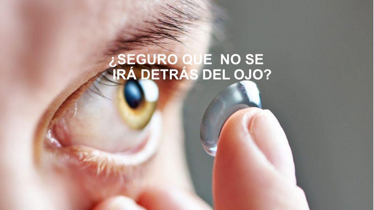 cosas transparentes en los ojos
