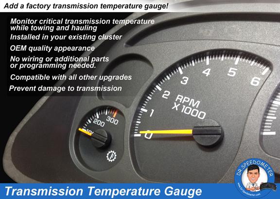 2006 Ford Mustang Tachometer Wiring Diagram Silverado Transmission Temperature Upgrade Drspeedometer