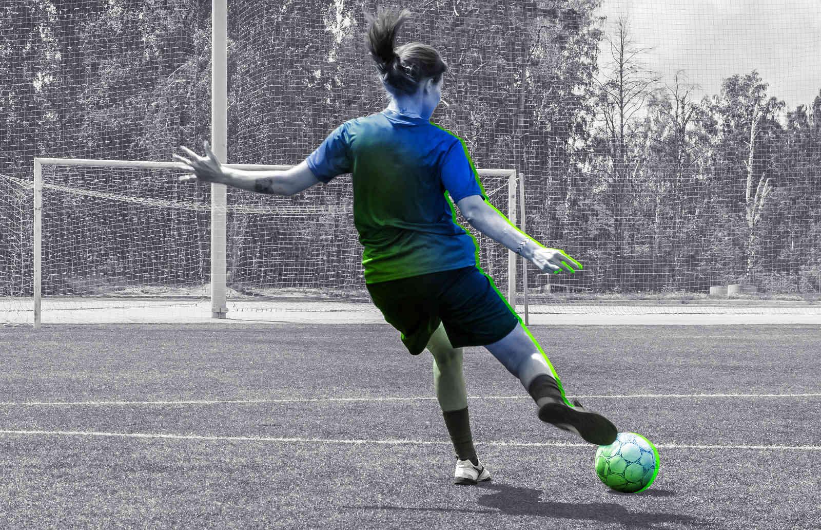 Lutter contre les douleurs, gênes et douleurs liées à la pratique du football avec DR SPORT