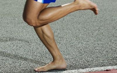 La course à pieds nus