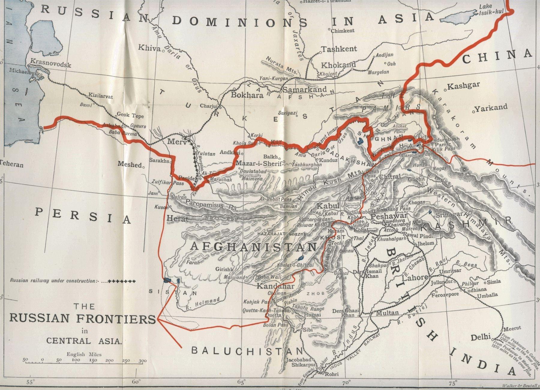 mapofindiaafghanistanrussiachinac18972