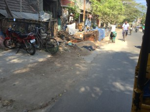 A street in the Tamil area
