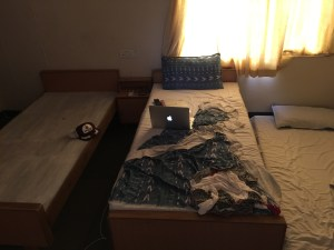 My bed is the one on the far-right